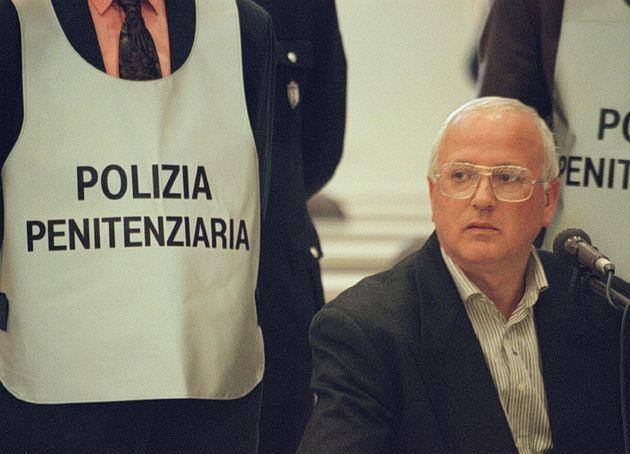 Raffaele Cutolo in una foto del