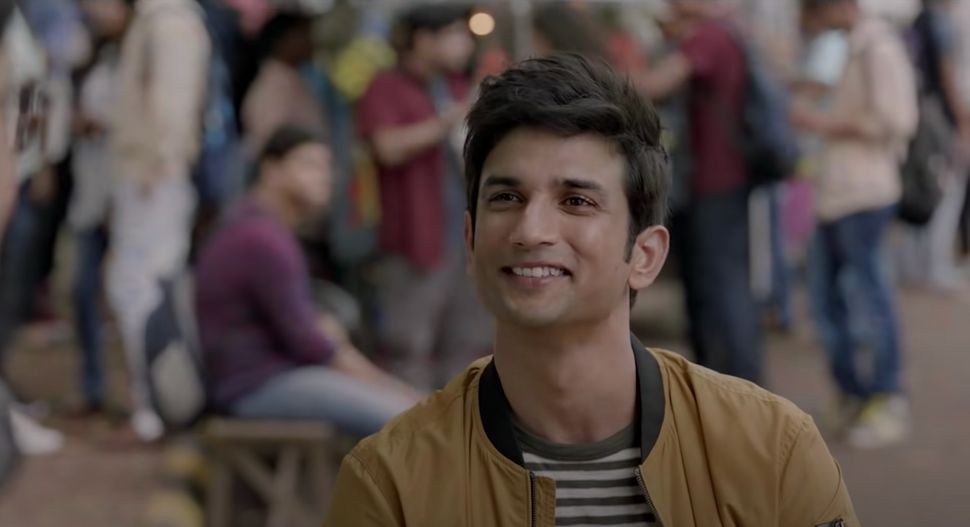 Sushant Singh Rajput in a still from 'Dil Bechara'.