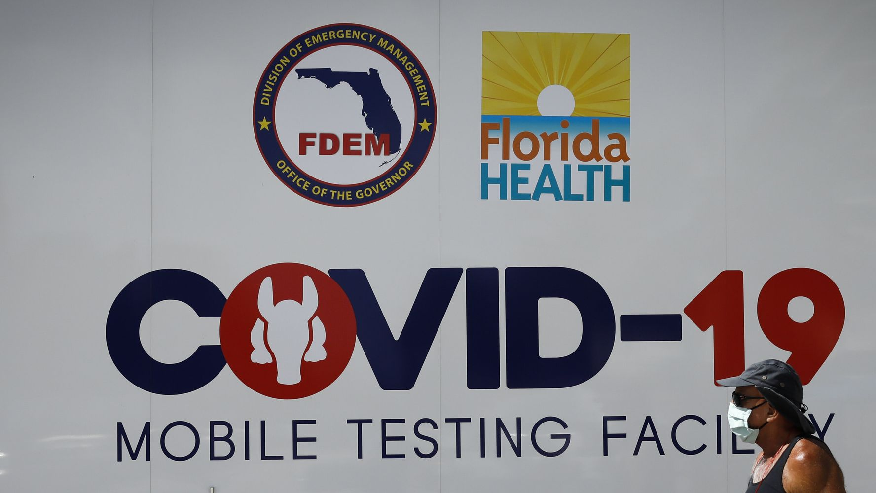 Florida's COVID-19 Cases Surge Past New York's As U.S. Deaths Hit 1,000 For 4th Day
