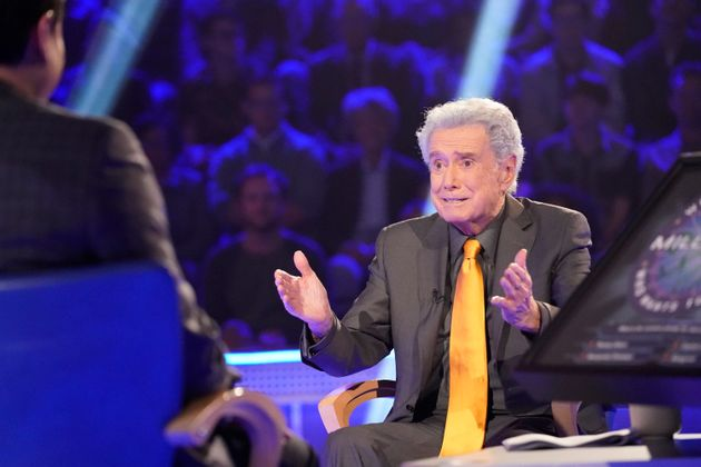 New York, NY - 2019: Regis Philbin appearing on the ABC tv series 'Who Wants To Be A Millionaire'. (Photo...