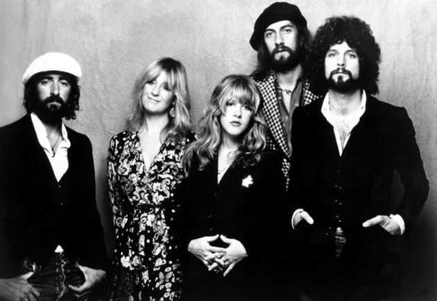 Fleetwood Mac: John Mcvie, Christine Mcvie, Stevie Nicks, Mick Fleetwood And Lindsey Buckingham.