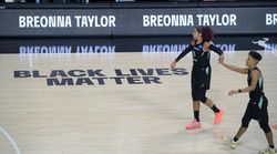 WNBA Teams Walk Off Court Ahead Of National Anthem On Opening