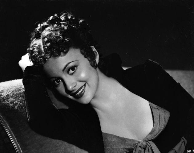 Olivia de Havilland, en una foto de los años