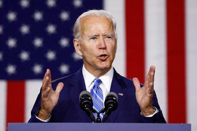 민주당 대선후보 조 바이든 전 부통령은 전국 단위 여론조사에서도 트럼프 대통령에 앞서고
