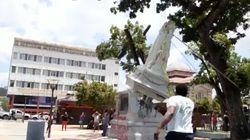 Deux statues considérées comme des symboles du passé colonial détruites en