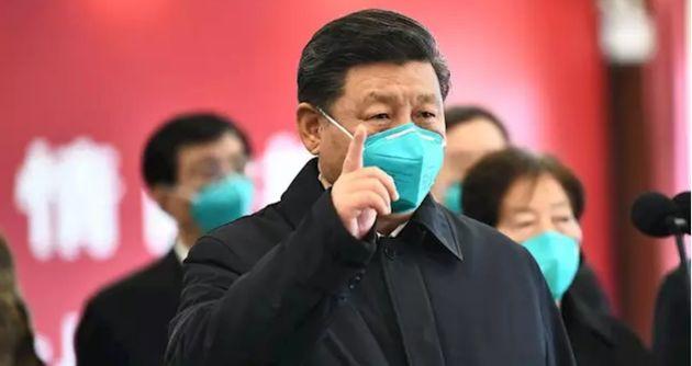 El presidente de China, Xi Jinping, en Wuhan, en una imagen de