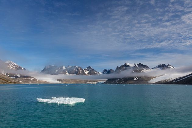 Au Svalbard, archipel norvégien situé dans l'Arctique, il n'avait jamais fait aussi chaud...