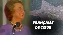 Olivia de Havilland aura vécu plus de la moitié de sa vie en France, voici