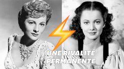 Olivia de Havilland et Joan Fontaine, les sœurs ennemies de