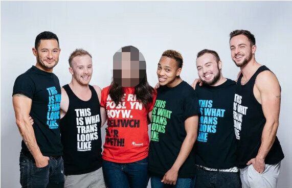 (L-R) Jake Graf, Kieran Moloney, Charlotte Williams*, Romario Bayliss, Lewis Hancox and Benjamin Melzer.Williams's identity has been obscured due to subsequent concerns for her safety that came to light after the original publication of this story.