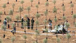 Dos muertos en un accidente de helicóptero en