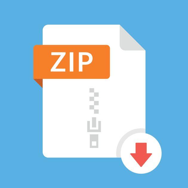 ZIPファイルのイメージ画像