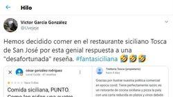 Un restaurante de Almería se corona con su respuesta a una crítica en