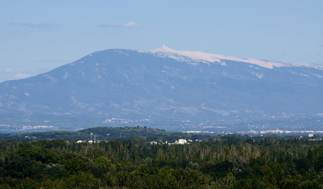 View of Mont Ventoux from Avignon, Provence,