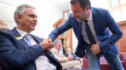 Il No politico di Matteo Salvini alla mascherina (di G.