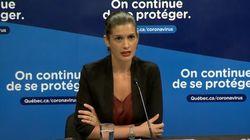 COVID-19: Geneviève Guilbault exhorte les jeunes à prendre la menace au