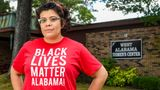 Activist Amanda Reyes poses for a photo at West Alabama Women's Center Friday, June 5, 2020, Tuscaloosa, Ala. Reyes started the Yellowhammer Fund, which raised millions for abortion access, and was able to purchase the last abortion clinic in west Alabama. (Julie Bennett for HuffPost)