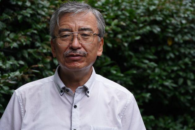神父からの性被害の実態を語る竹中勝美さん。「私が沈黙を守ることは、子どもたちの被害を増やし続けることになるのです」