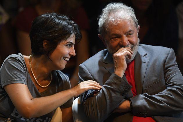 Vice de Fernando Haddad (PT) em 2018,Manuela d'Ávila (PCdoB) deve contar com apoio de Lula...