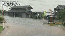 東北や北陸で記録的な大雨のおそれ。土砂災害に警戒。夕方にかけ局地的な激しい雨