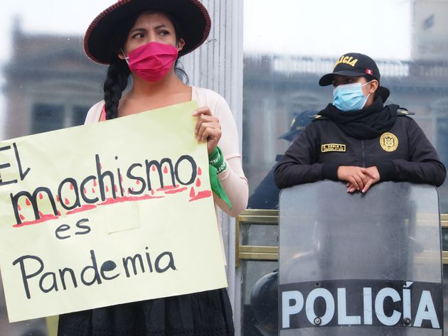 Διαμαρτυρία στη Λίμα...