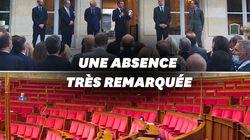 Macron harangue sa majorité (pendant que l'opposition poireaute à