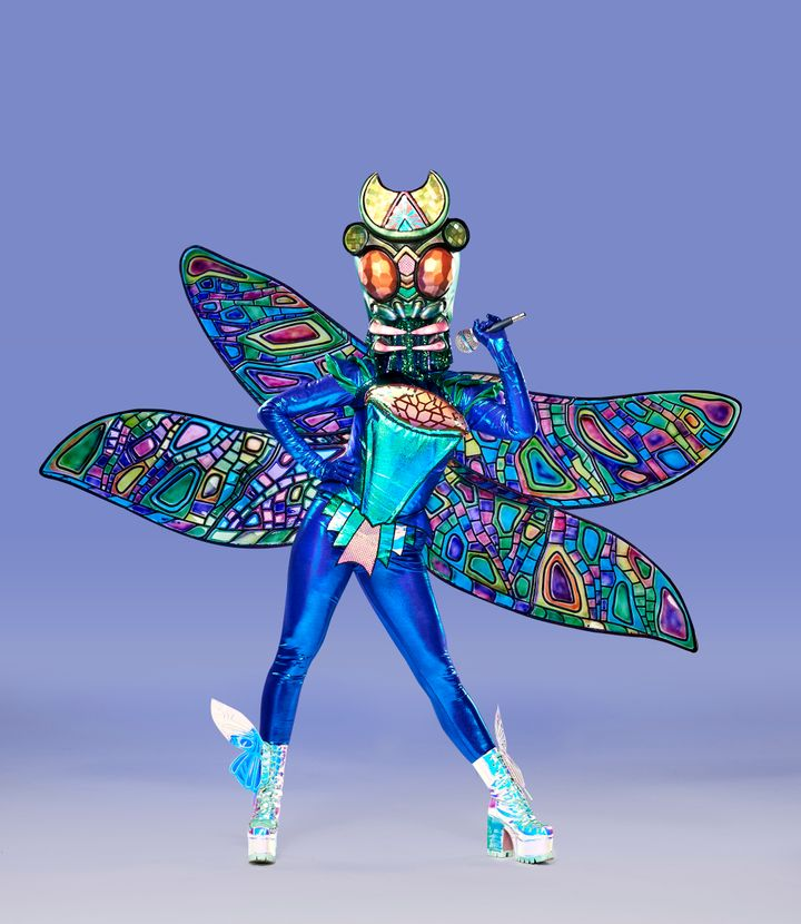 The Dragonfly on 'The Masked Singer Australia'
