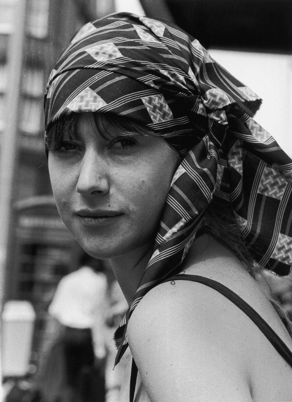 Η Βρετανή ηθοποιός Ελεν Μίρεν στο Λονδίνο, στις 28 Ιουλίου 1975.