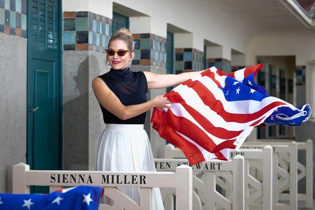 L'actrice Sienna Miller, à l'honneur en 2019 au Festival du cinéma américain de