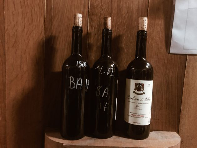Elio Sandri e il suo vino senza