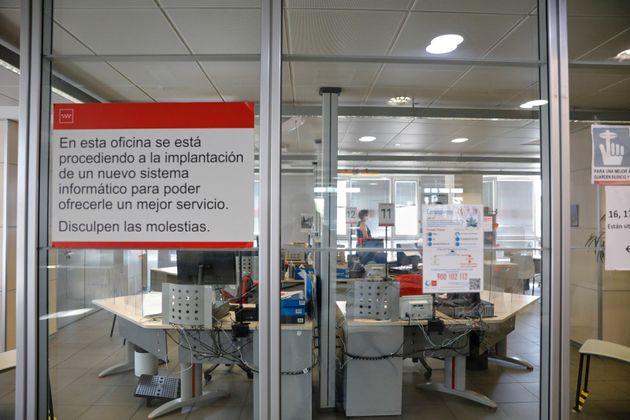 Una oficina de empleo en el barrio de Santa Eugenia, en