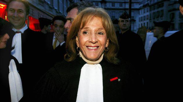 Gisèle Halimi, ici en février 2004, est morte à 93
