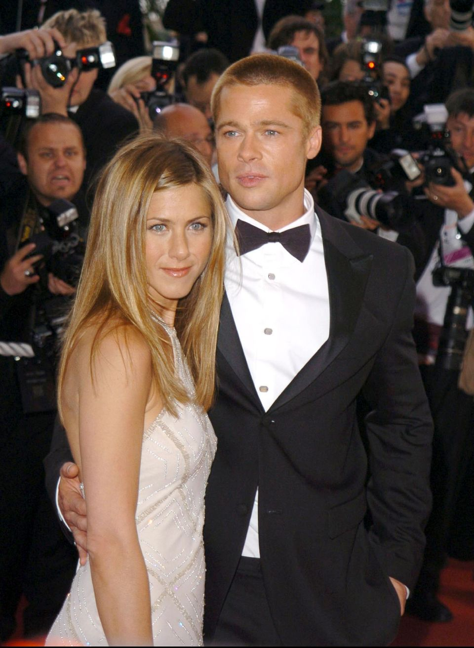 Jennifer Aniston and Brad