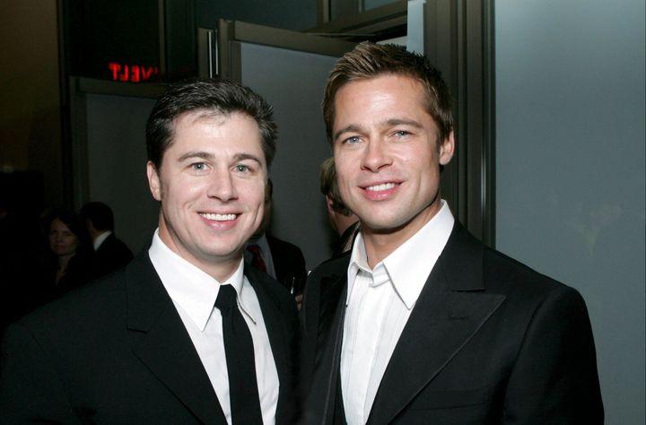 Doug and Brad Pitt