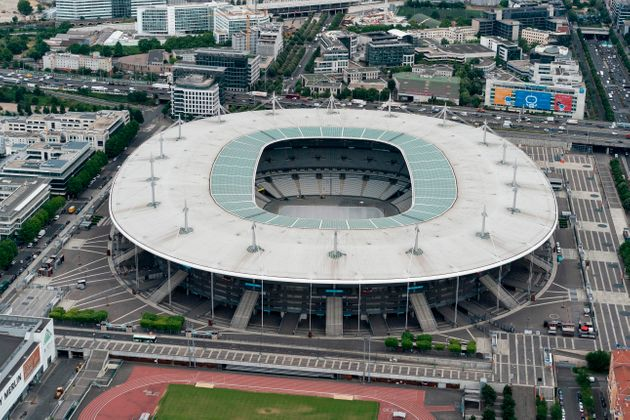 Le Stade de France à Saint-Denis, près de