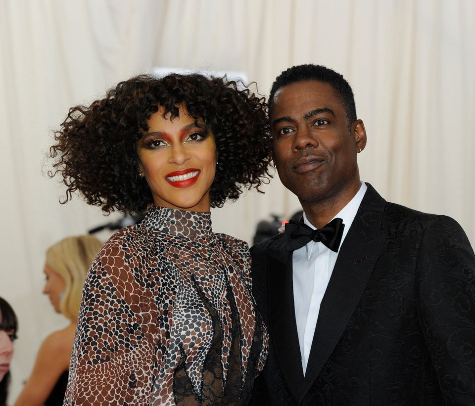 Megalyn Echikunwoke and Chris Rock dated for four years. Here they arrive at the 2019 Met Gala Celebrating Camp: Notes On Fashion at The Metropolitan Museum of Art.