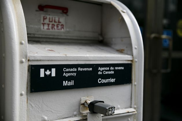 A CRA mailbox is photographed in Toronto on July 29, 2019. The Liberals have already extended the tax...