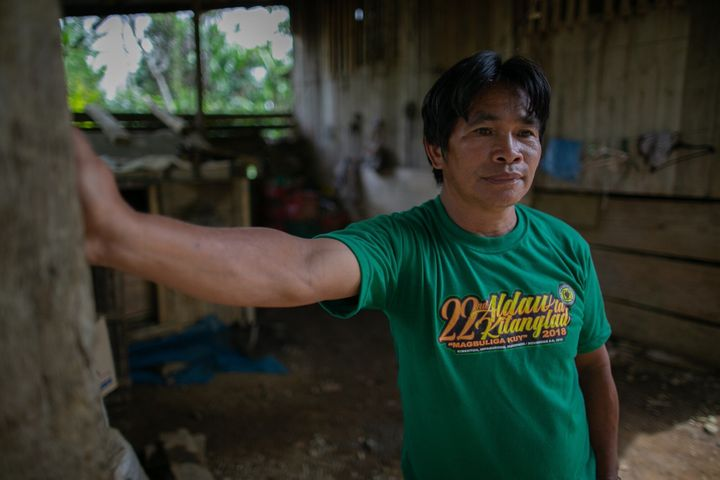 Benedick Kilaan is one of hundreds of Indigenous people whose homes were demolished in June 2018, following a court order by