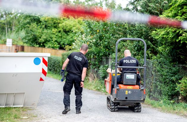 La polizia tedesca sta cercando il corpo di Maddie McCann in un terreno ad