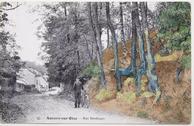rue Daubigny, Auvers-sur-Oise, vers