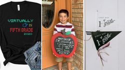 These First-Day-Of-School Photo Props Can Bring Some Normalcy To These Uncertain