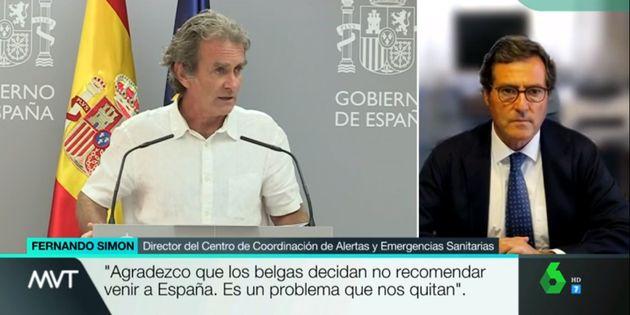 Antonio Garamendi en 'Más Vale
