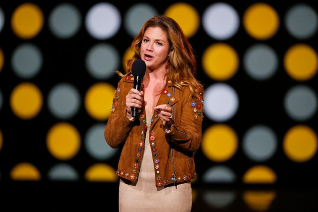 Sophie Gregoire-Trudeau speaks during the Invictus Games Closing Ceremony on Sept. 30,