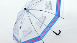 ジップロックを傘にリサイクル ⇒
