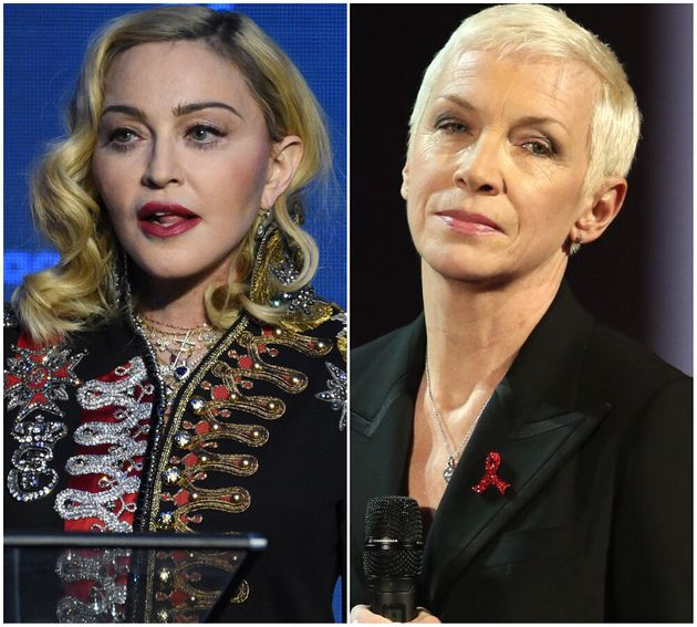 Madonna and Annie