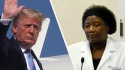 Trump difende Stella Immanuel, medico star di fake news, tra Covid, rettili e