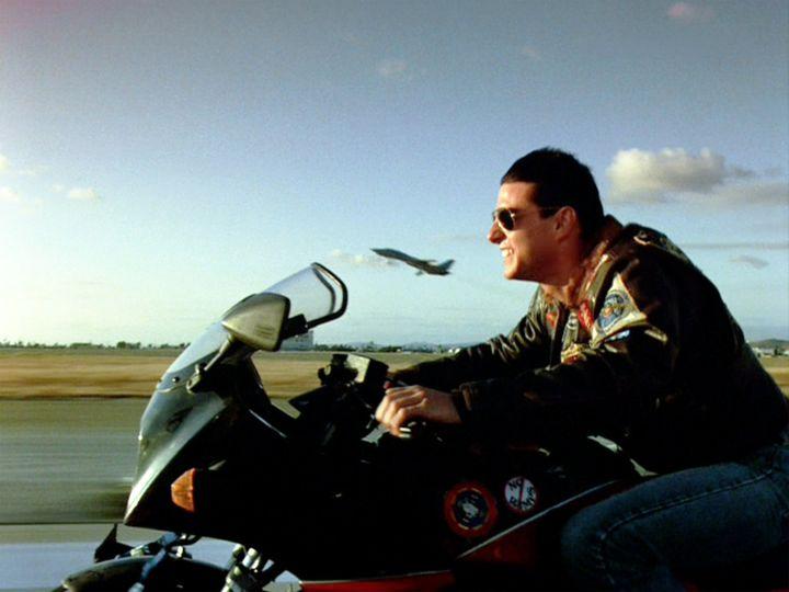 Ο Τομ Κρουζ στο «Top Gun»
