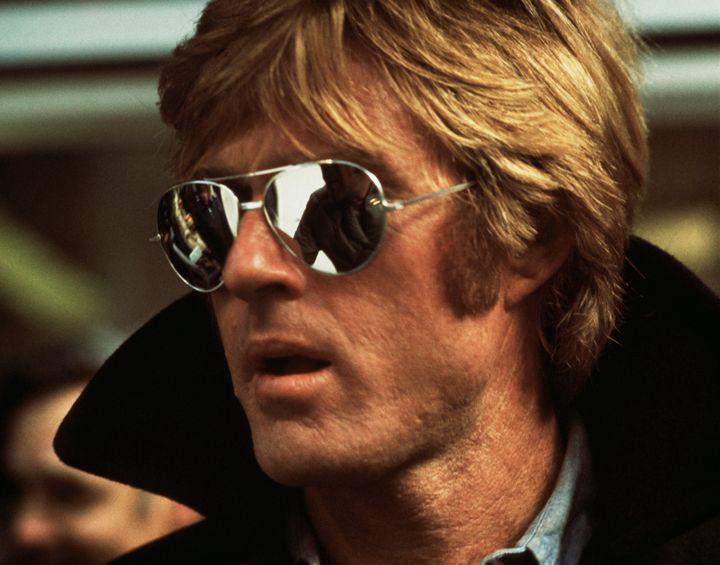 Ο Ρόμπερτ Ρέντφορντ το 1975 στην ταινία του Σίντνεϊ Πόλακ, «Οι Τρεις Μέρες του Κόνδορα».