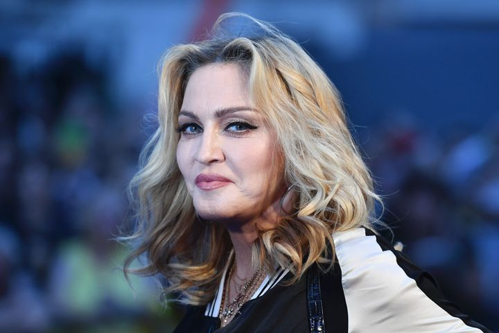 Madonna posted a coronavirus conspiracy video and wrote that a cure had been found but was being hidden.
