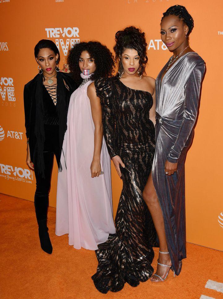Pose's MJ Rodriguez, Indya Moore, Hailie Sahar and Dominique Jackson